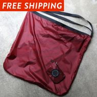 *FAIRWEATHER* packable sacoche  (burgundy)
