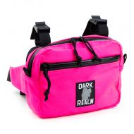 *REALM* dual duty bag (pink)