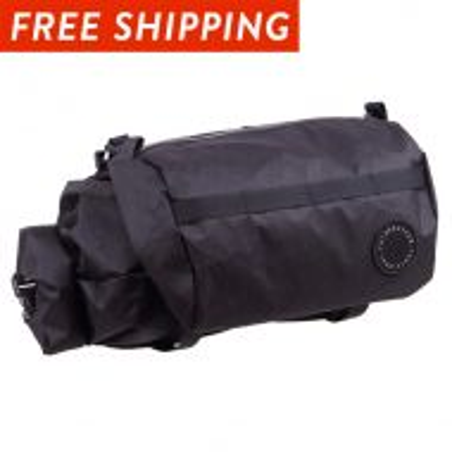 *FAIRWEATHER* handlebar bag + (x-pac black)