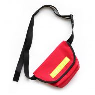 *BLUE LUG* hip messenger (red/reflector)