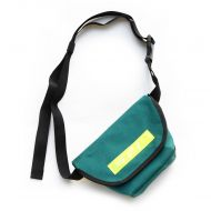 *BLUE LUG* hip messenger (pine green/reflector)