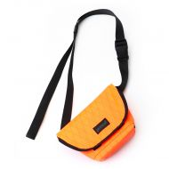 *BLUE LUG* hip messenger (neon orange)