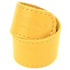 *BROOKS* leather trouser strap (mustard)