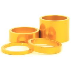 *CHRIS KING* headset spacers (gold)