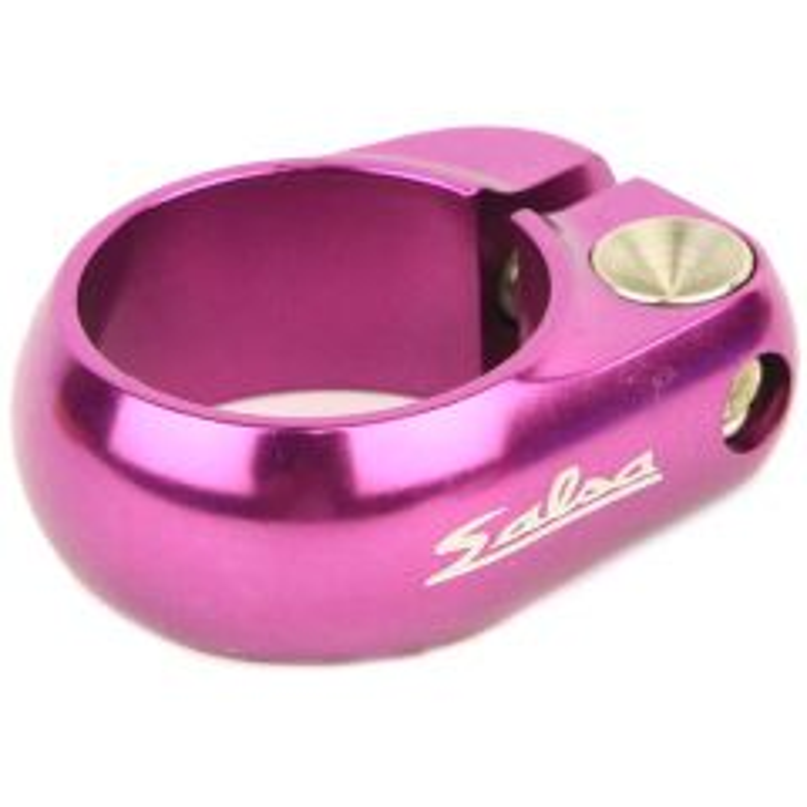 *SALSA CYCLES* lip-lock clamp (purple)