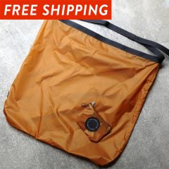 *FAIRWEATHER* packable sacoche  (camel)