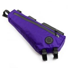 *FAIRWEATHER* frame bag half (x-pac purple)