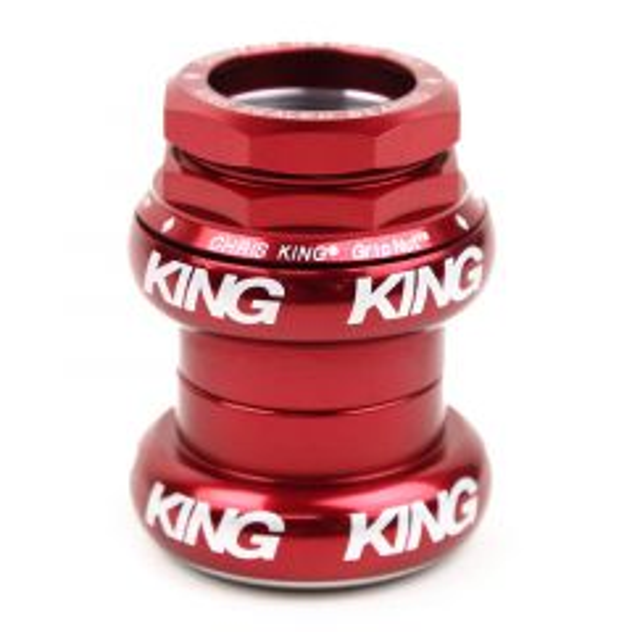 "*CHRIS KING* 1 1/8"" gripnut (red)"
