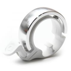 *KNOG* Oi classic bell (silver/white)