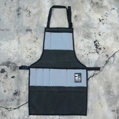 *ILE* work apron (waxed forest/grey)