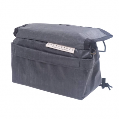 *OUTER SHELL ADVENTURE* drawcord handlebar bag (liteskin)