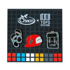 *TOPO DESIGNS* chaco pins set