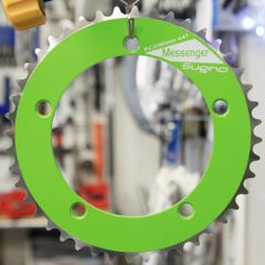 *SUGINO* rd messenger chainring (p-green)