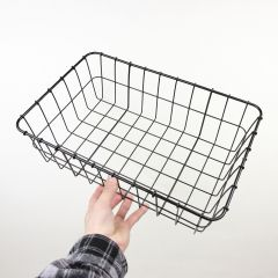*WALD* 137 basket (black)