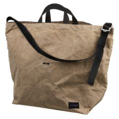 *BLUE LUG* 137 tote bag (wax beige)