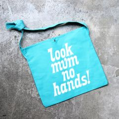 *LOOK MUM NO HANDS* sacoche (turquoise)
