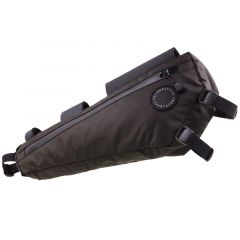 *FAIRWEATHER* frame bag half (brown)