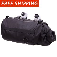 *FAIRWEATHER* handlebar bag + (black)