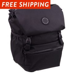 *FAIRWEATHER* flaptop pannier (black)