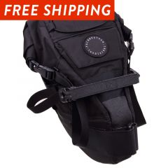 *FAIRWEATHER* seat bag (black)