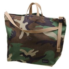 *BLUE LUG* 137 tote bag (woodland camo)