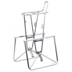 *NITTO* campee cross front rack (silver)