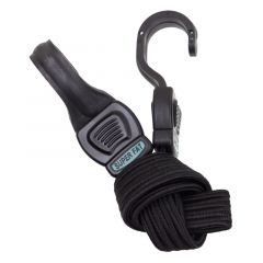 *HIGHLAND* super fat strap bungee (black)