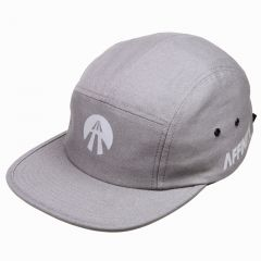 *AFFINITY CYCLES* reflective 5 panel cap (grey)