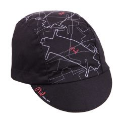 *PHILWOOD* cycle cap (black)