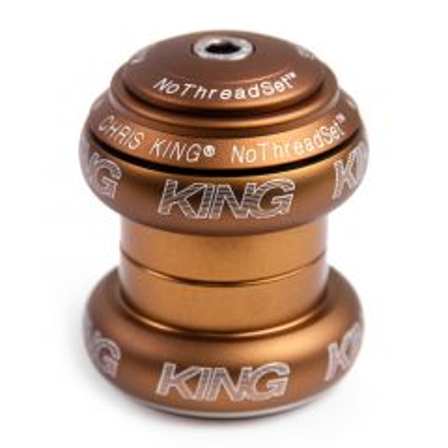 *CHRIS KING* nothreadset 1 1/8 inch (matte bourbon)