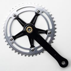 *BLUELUG* RMC crank set (black/silver)