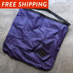*FAIRWEATHER* packable sacoche  (navy)