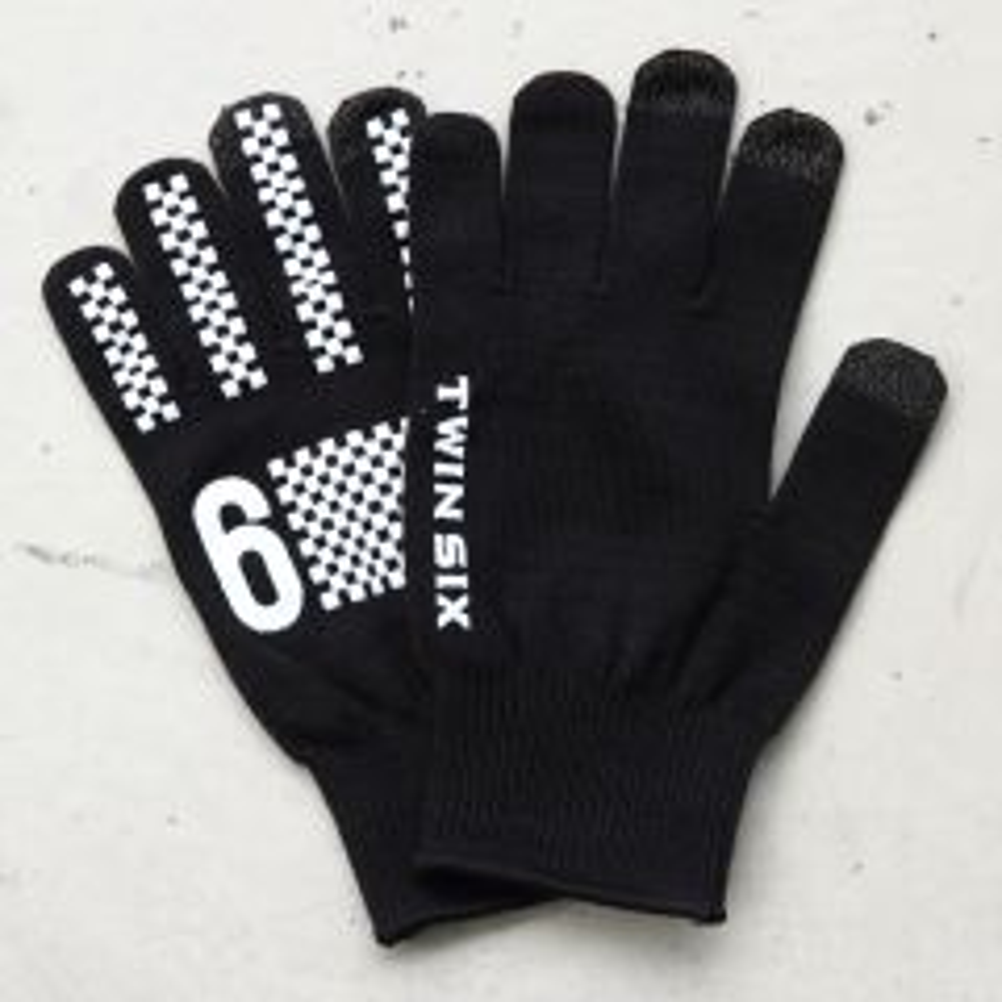 *TWIN SIX* T6 knit glove (black)