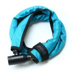 *BLUE LUG* compact wire lock (turquoise)