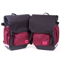 *SWIFT INDUSTRIES* roll top (steel/black/burgundy)