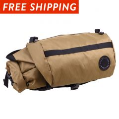*FAIRWEATHER* handlebar bag + (x-pac coyote)