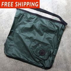 *FAIRWEATHER* packable sacoche (algae green)