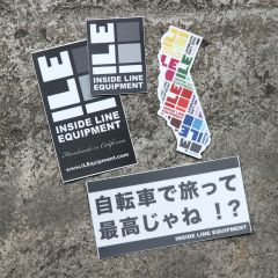 *ILE* sticker set