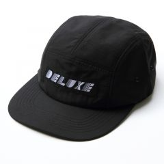 *DELUXE CYCLES* deco 5panel cap (black)