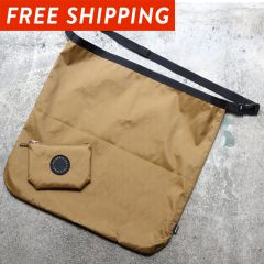 *FAIRWEATHER* packable sacoche (x-pac/coyote)