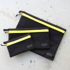*BLUE LUG* dry pouch (black/yellow)