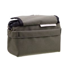 *OUTER SHELL ADVENTURE* drawcord handlebar bag (olive drab)