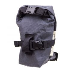 *OUTER SHELL ADVENTURE* rolltop saddlebag (graphite)