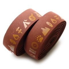*SALSA* glyph gel cork bar tape (brown)