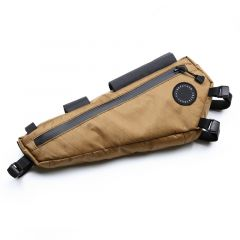 *FAIRWEATHER* frame bag half (x-pac coyote)