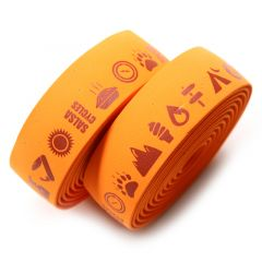 *SALSA* glyph gel cork bar tape (orange)