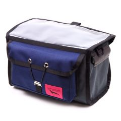 *SWIFT INDUSTRIES* paloma handlebar bag (steel/navy)
