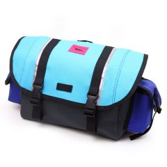 *SWIFT INDUSTRIES* zeitgeist saddle bag (L/turquoise/blue/steel)