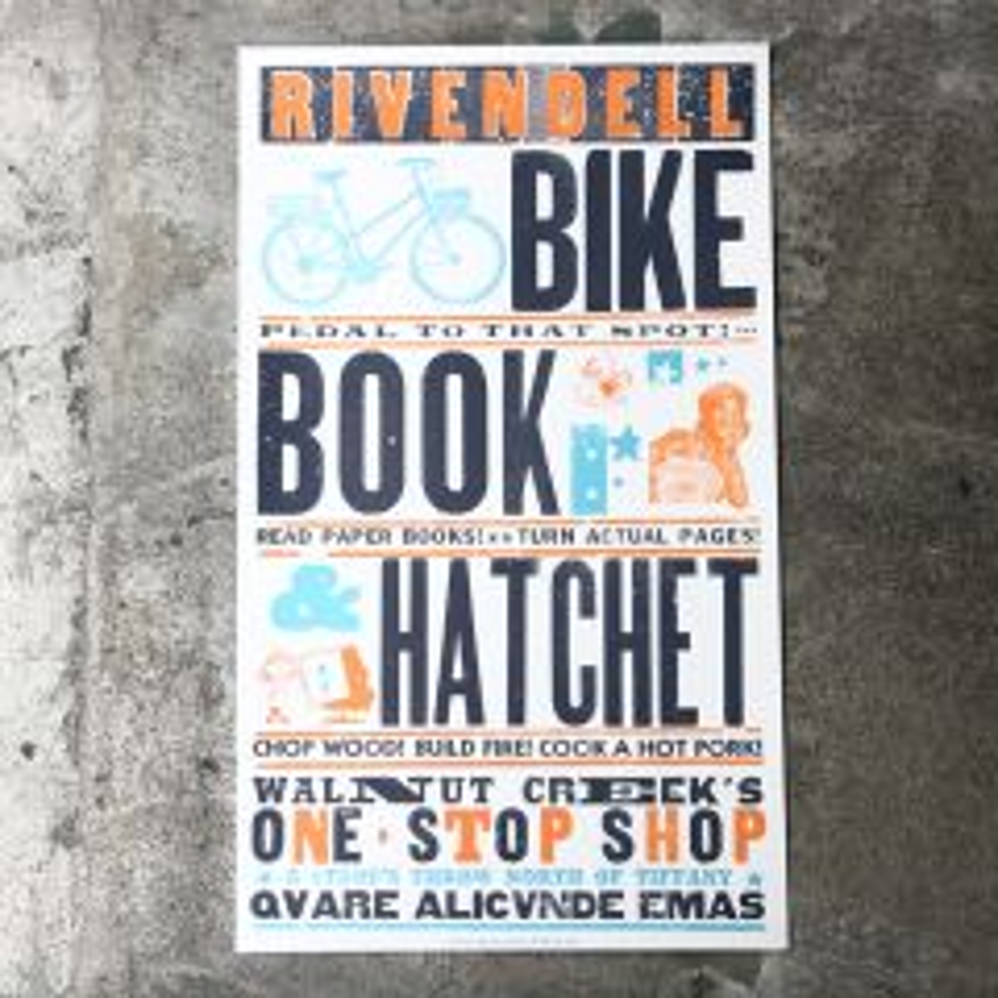 *RIVENDELL* shop poster