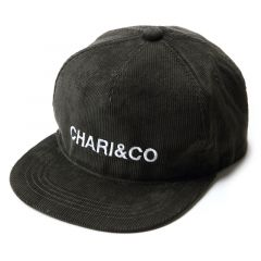 *CHARI&CO* corduroy snapback (Dark green)